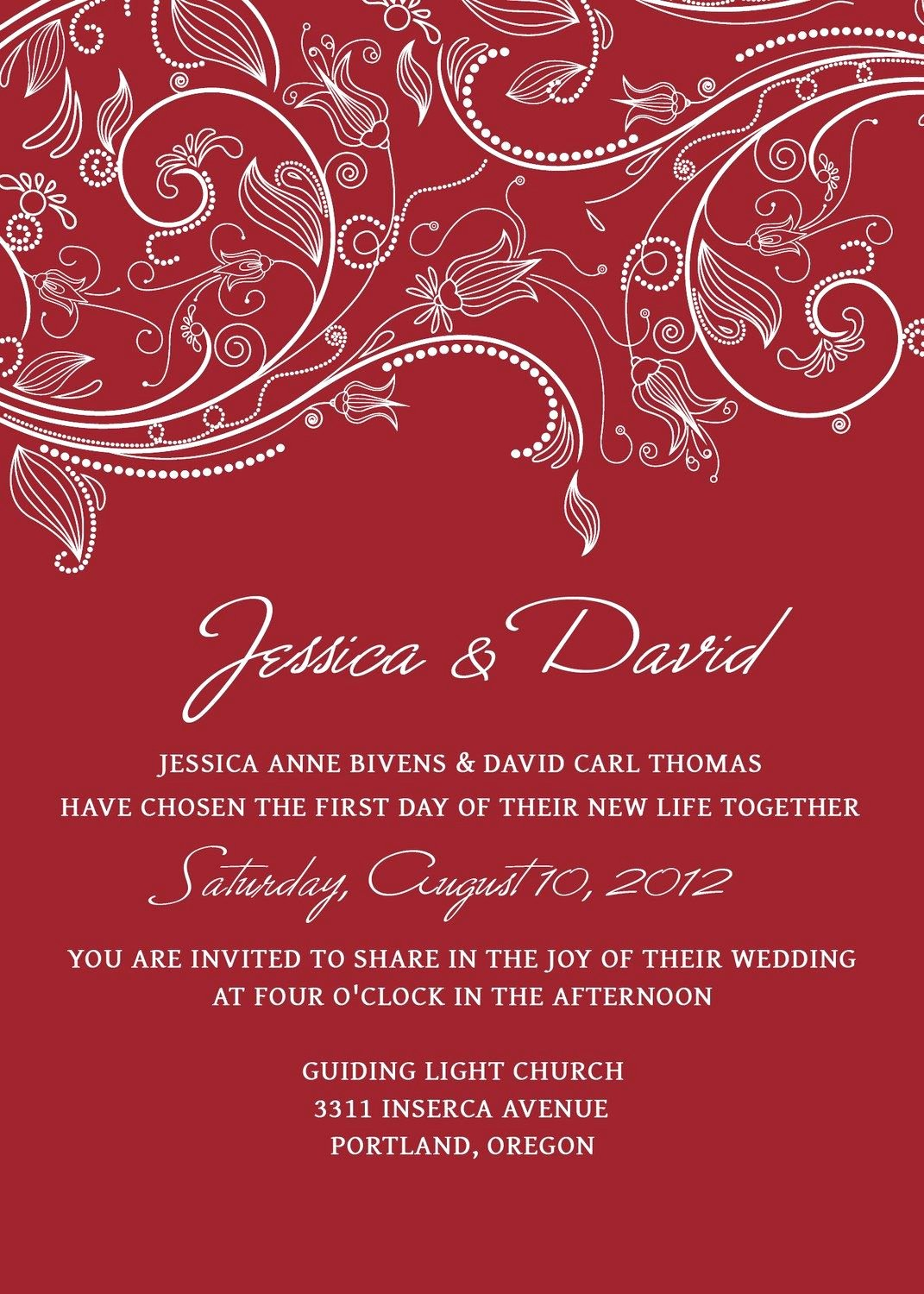 Photoshop Wedding Invitation Template Best Of Wedding Invitation Templates Psd Shop Red Crimson