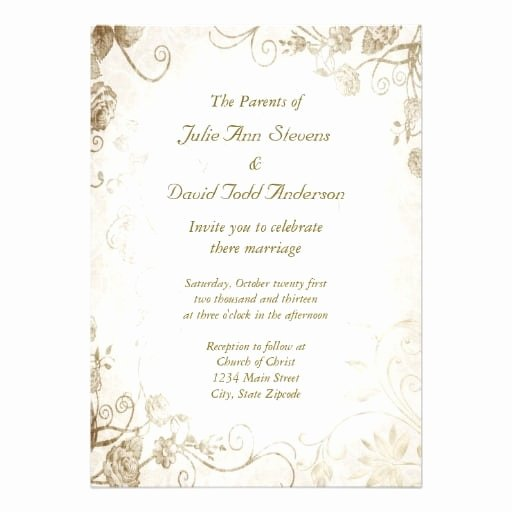 Photoshop Wedding Invitation Template Fresh Vintage Wedding Invitation Template