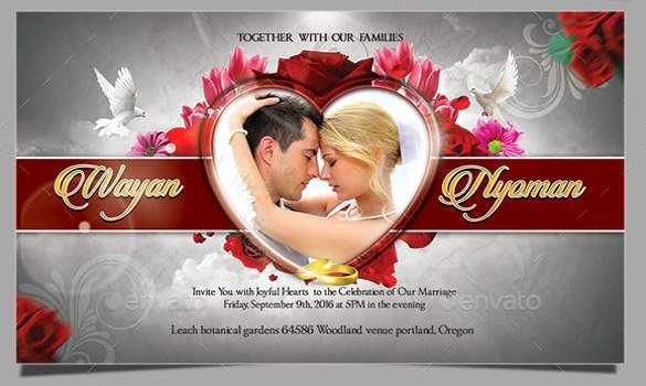 Photoshop Wedding Invitation Template New 59 Invitation Templates Psd Ai Word Indesign