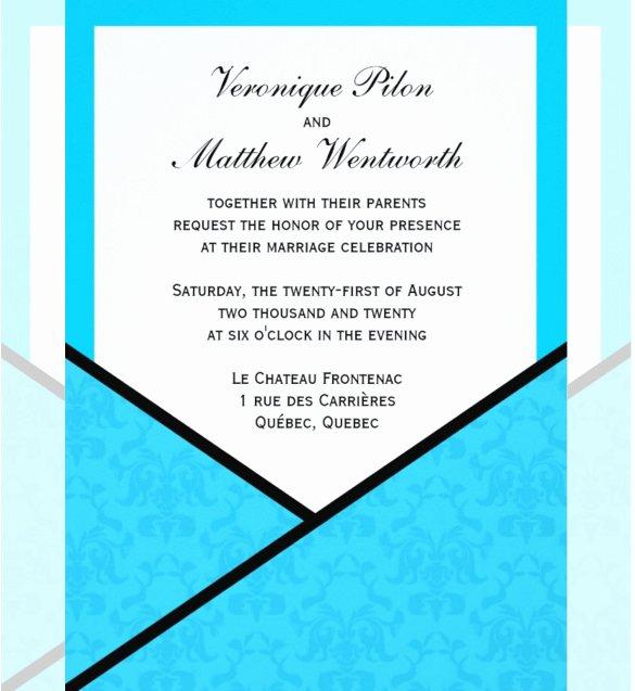 Pocket Wedding Invitation Template Unique 15 Pocket Wedding Invitation Templates Free Sample