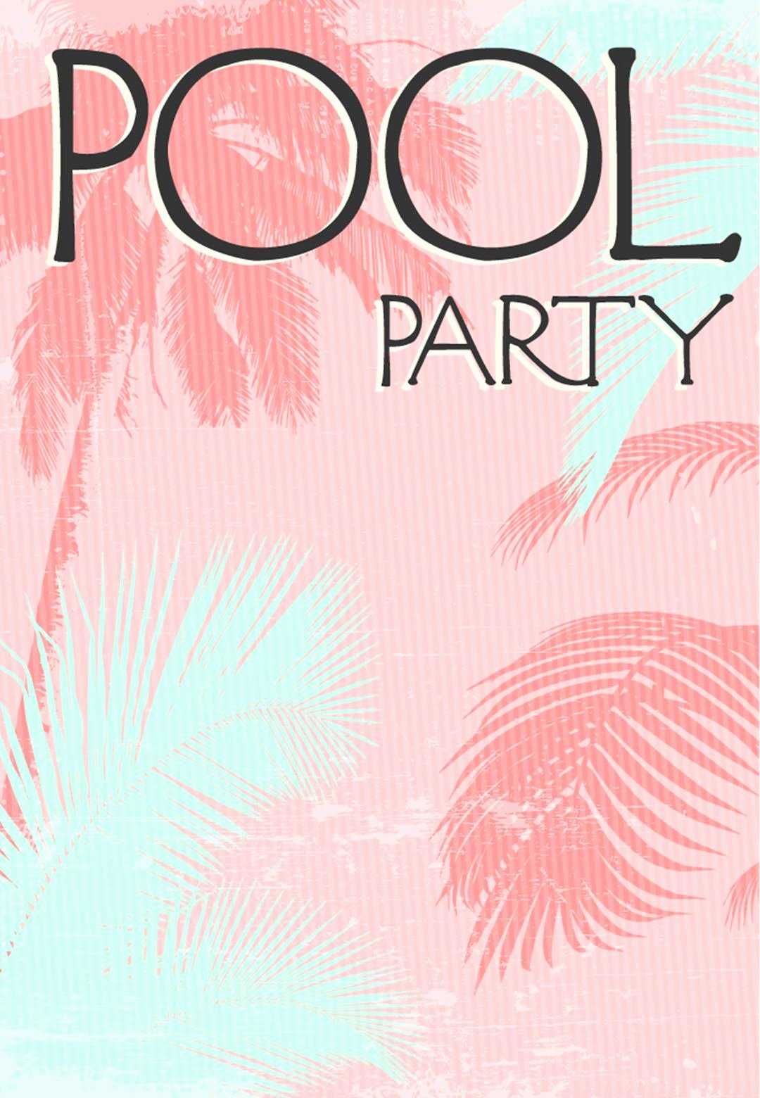 Pool Party Invitation Template Free Awesome Summer Party Invitation Free Printable Fun In the Sun