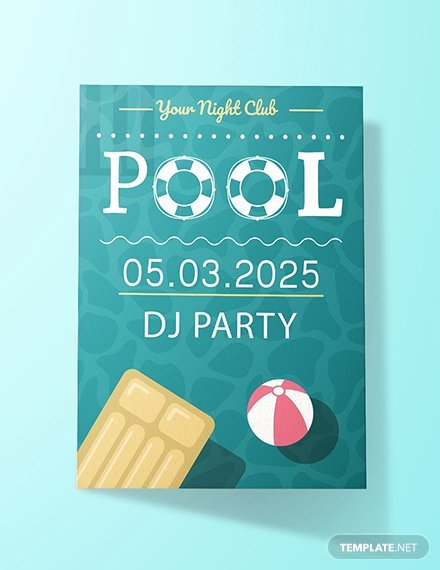 Pool Party Invitation Template Free Fresh Free Garden Party Invitation Template Download 344