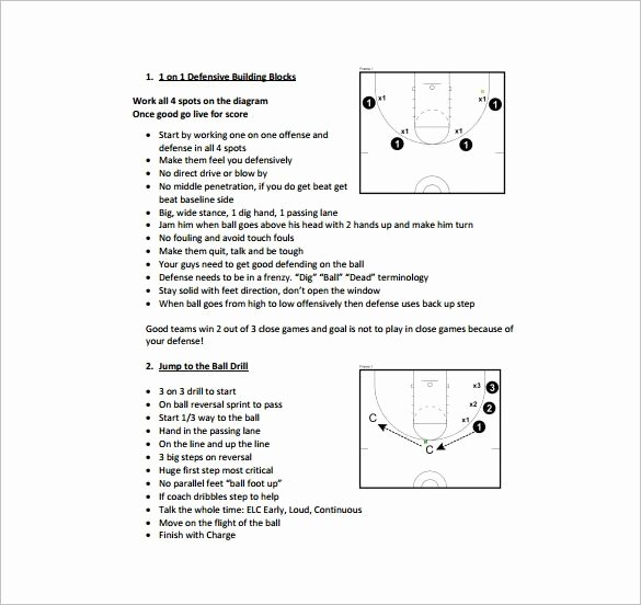 Practice Plan Template Basketball Elegant Editable Basketball Practice Plan Template