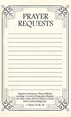 Prayer Request form Template Beautiful Free Printable Prayer Request forms Time Warp Wife