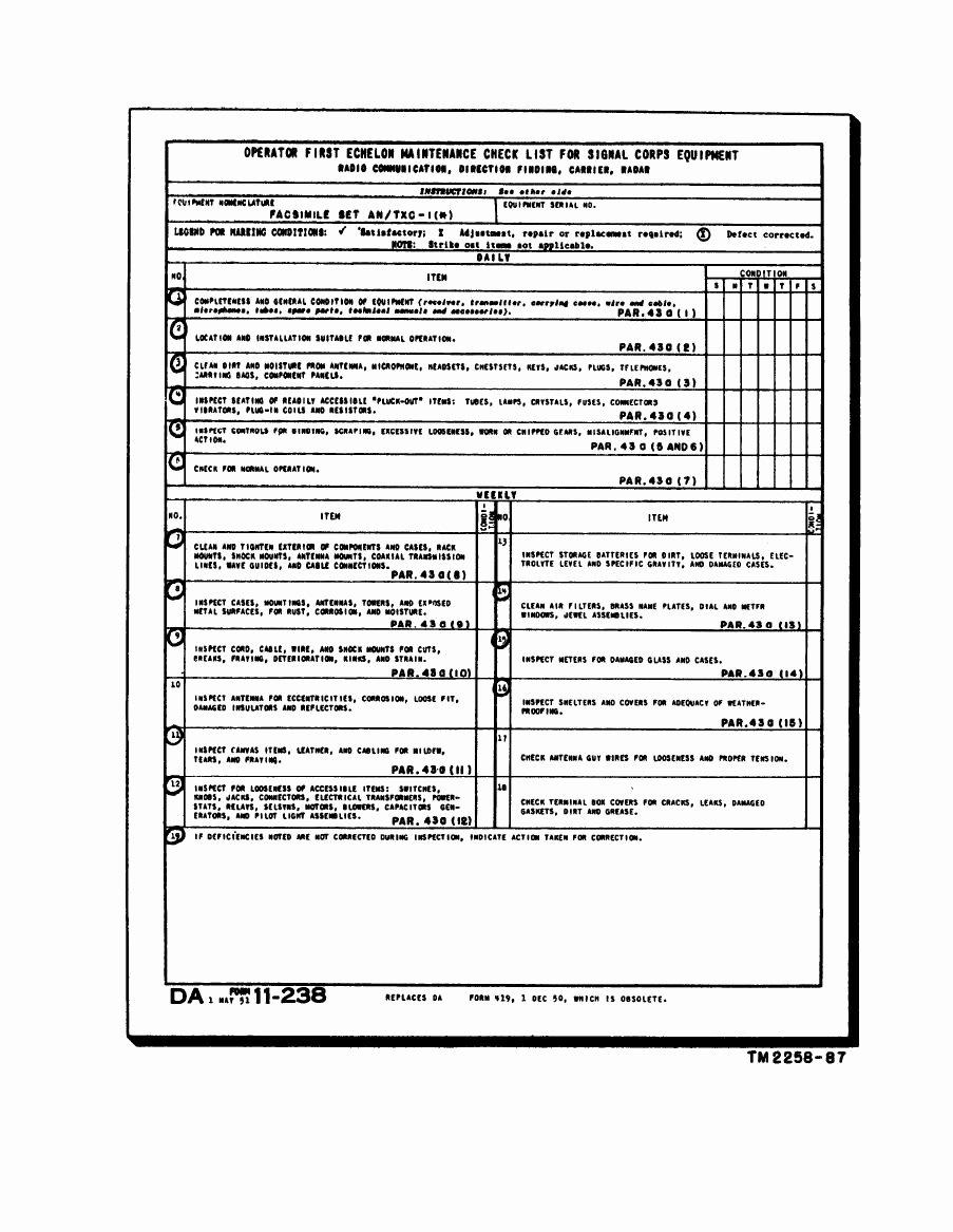 Preventive Maintenance form Template Elegant Hvac Maintenance Checklist form orncastle