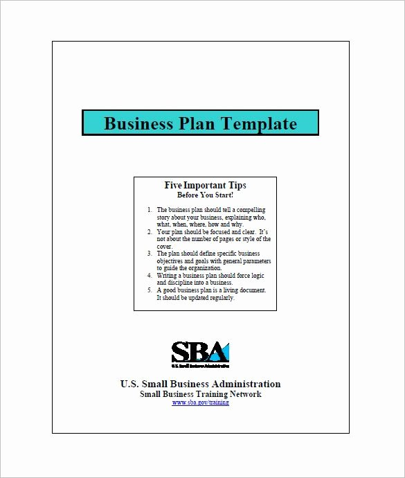 Printable Business Plan Template New Small Business Plan Templates