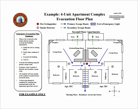 Printable Fire Escape Plan Template Elegant 9 Evacuation Plan Templates Word Google Docs Apple