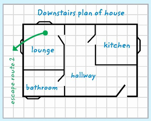 Printable Fire Escape Plan Template New Escape Plan Template Cornwall Council