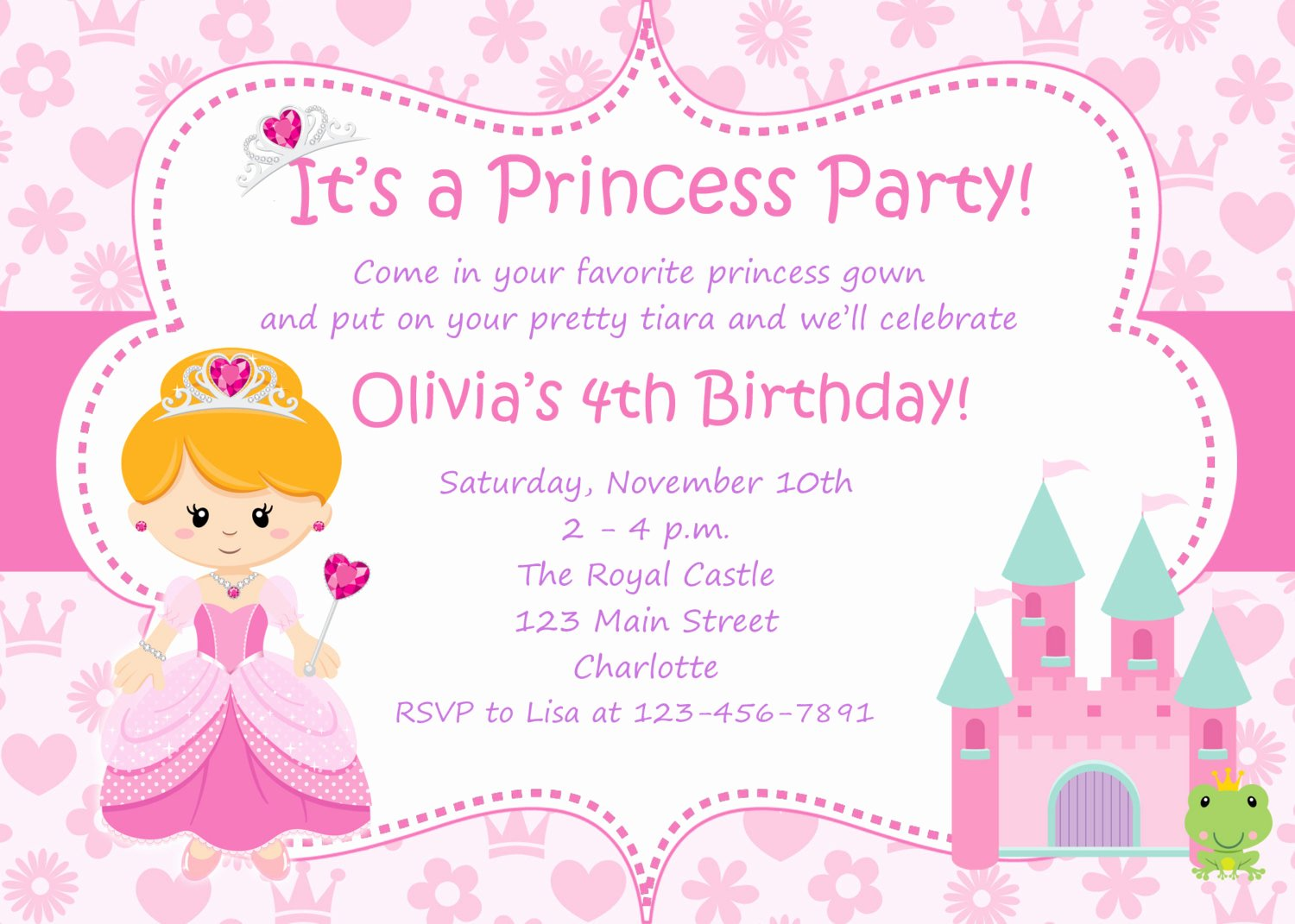 Printable Party Invitation Template Awesome Free Birthday Invitations Templates Printable Free