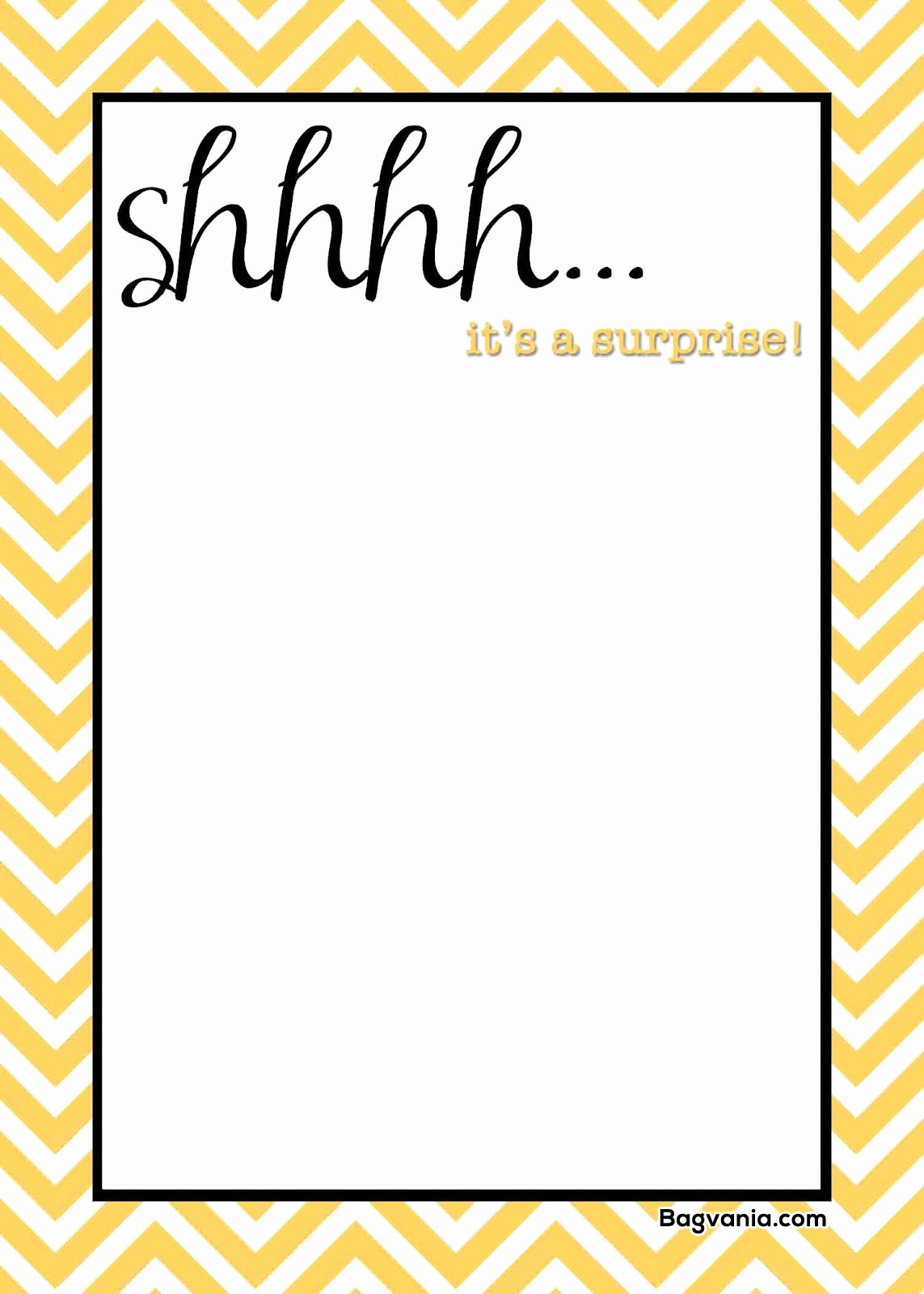 Printable Party Invitation Template Lovely Free Printable Surprise Birthday Invitations – Free