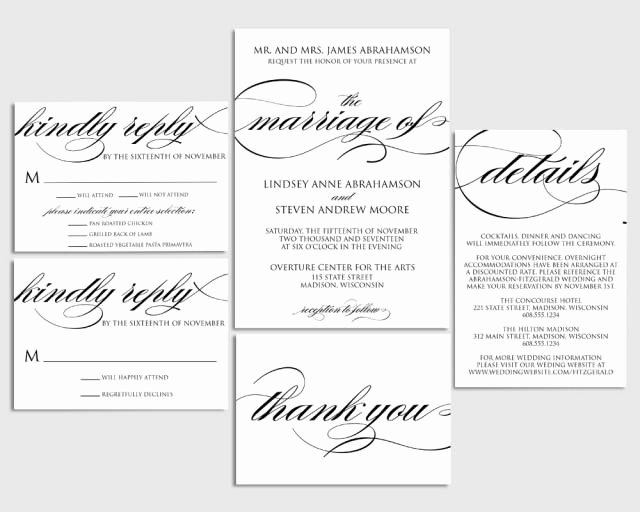 Printable Wedding Invitation Template Lovely Wedding Invitation Printable Wedding Invite formal