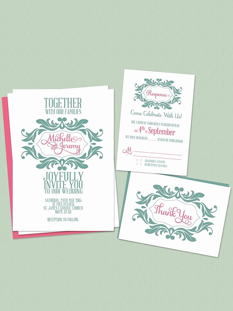 Printable Wedding Invitations Template Luxury 16 Printable Wedding Invitation Templates You Can Diy