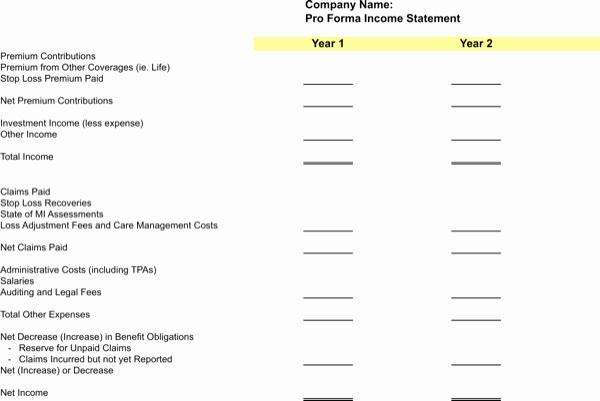 Pro forma Balance Sheet Template Awesome Download Pro forma Balance Sheet Template for Free