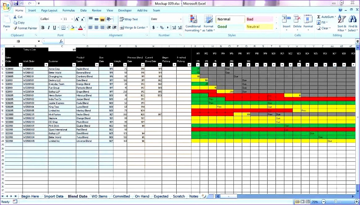 Production Planning Excel Template Beautiful 8 Bud Excel Template Exceltemplates Exceltemplates
