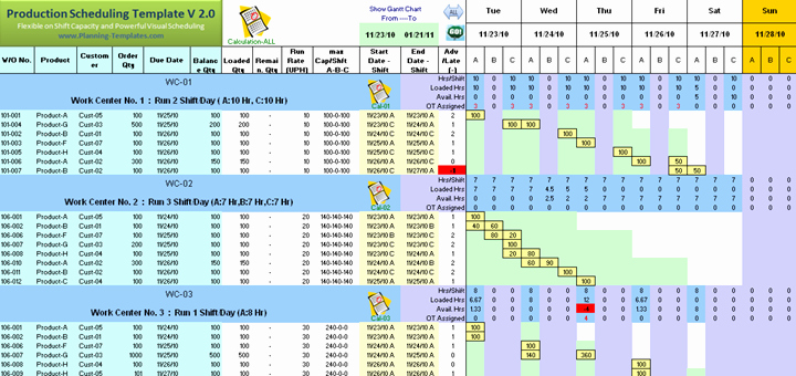 Production Planning Excel Template Luxury format Of Production Schedule Planning Spreadsheet Excel