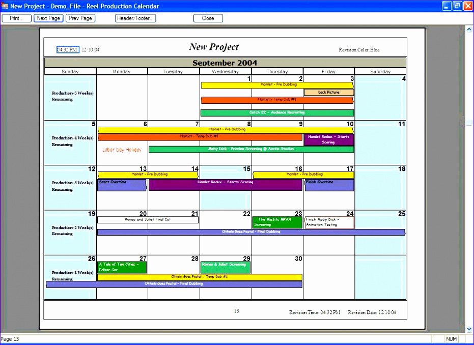 Production Schedule Template Excel Beautiful 10 Excel Production Schedule Template Exceltemplates