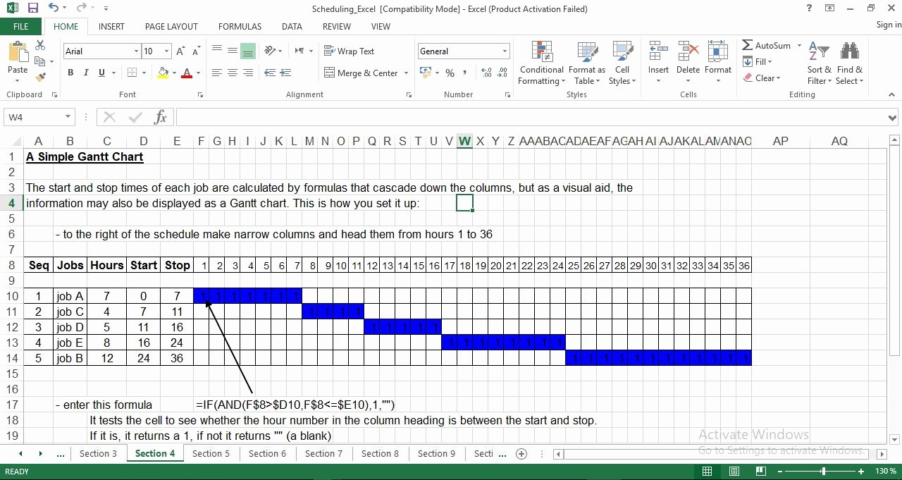 Production Schedule Template Excel Inspirational Production Scheduling Excel Template Engineering Management