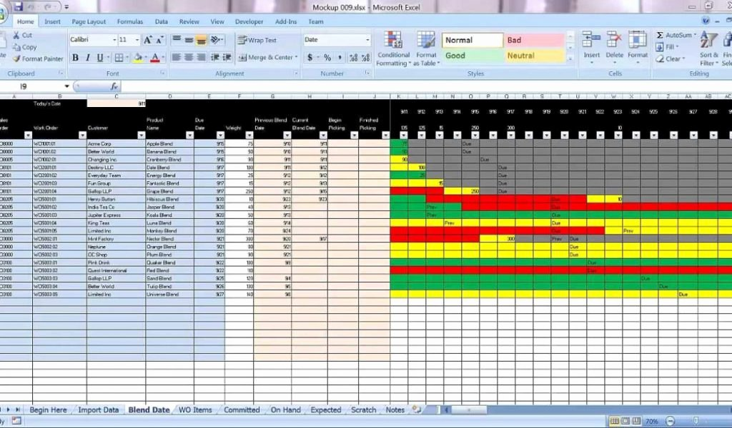 Production Schedule Template Excel Luxury Excel Graphical Production Planning and Control Planner