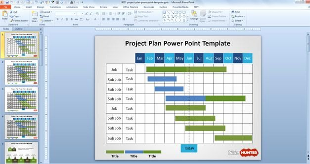 Project Plan Powerpoint Template Awesome Woodworking Products