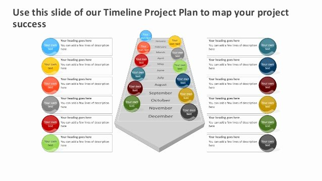 Project Plan Powerpoint Template Fresh Timeline Project Plan Editable Powerpoint [template]