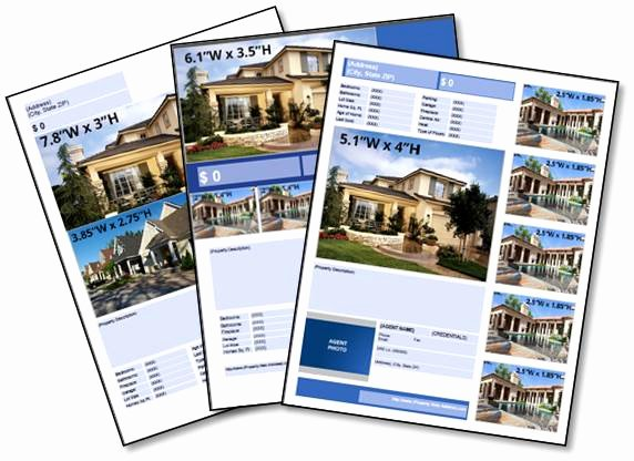 Property Listing form Template Unique Free Real Estate Download Listing Flyer Templates