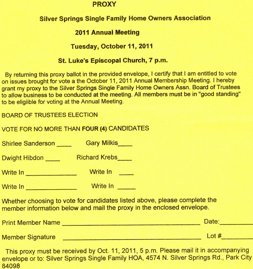 Proxy Voting form Template Best Of 10 Prize Ballot Template – Lscign