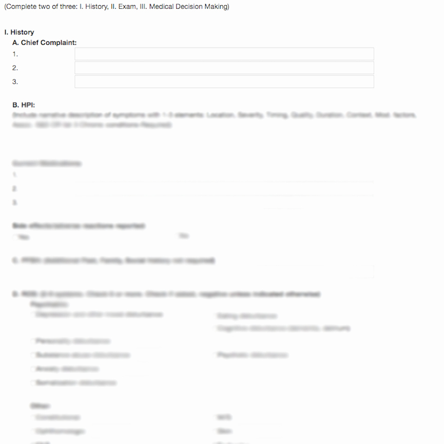 Psychiatric Evaluation form Template New therapy Notes Template Library