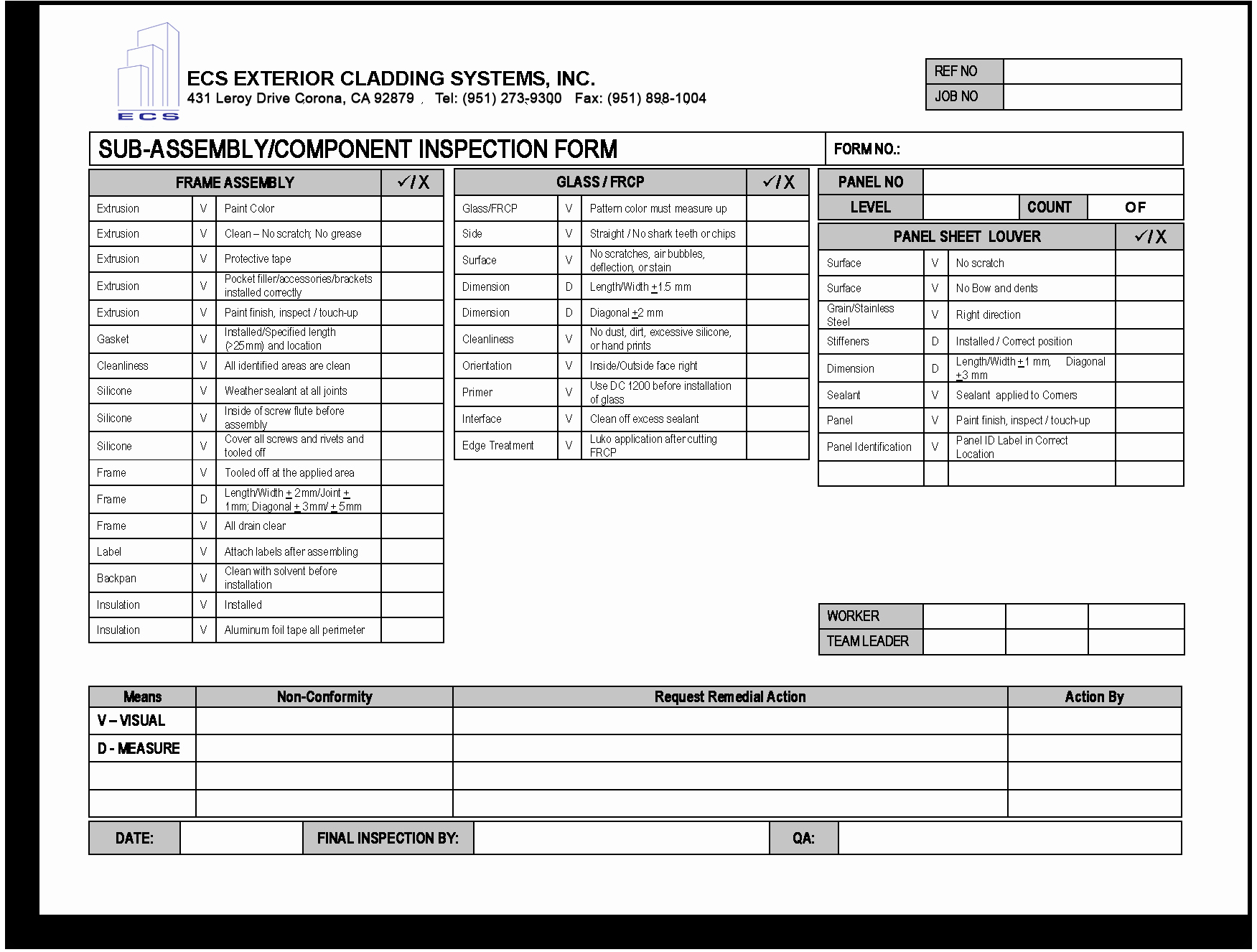 Quality Control form Template Best Of Quality Control Check Sheet Template Erieairfair