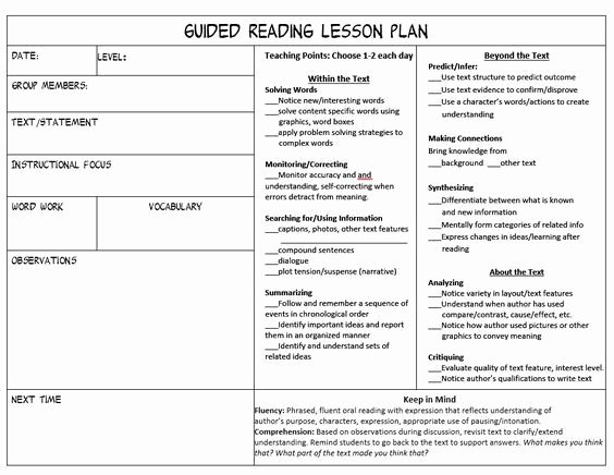 Readers Workshop Lesson Plan Template Inspirational Stop Feeling Overwhelmed Trying to Juggle Guided Reading