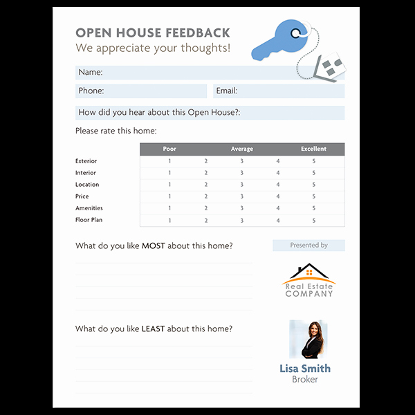 Real Estate Feedback form Template Fresh 4 Secrets for A Stress Free Transaction Video