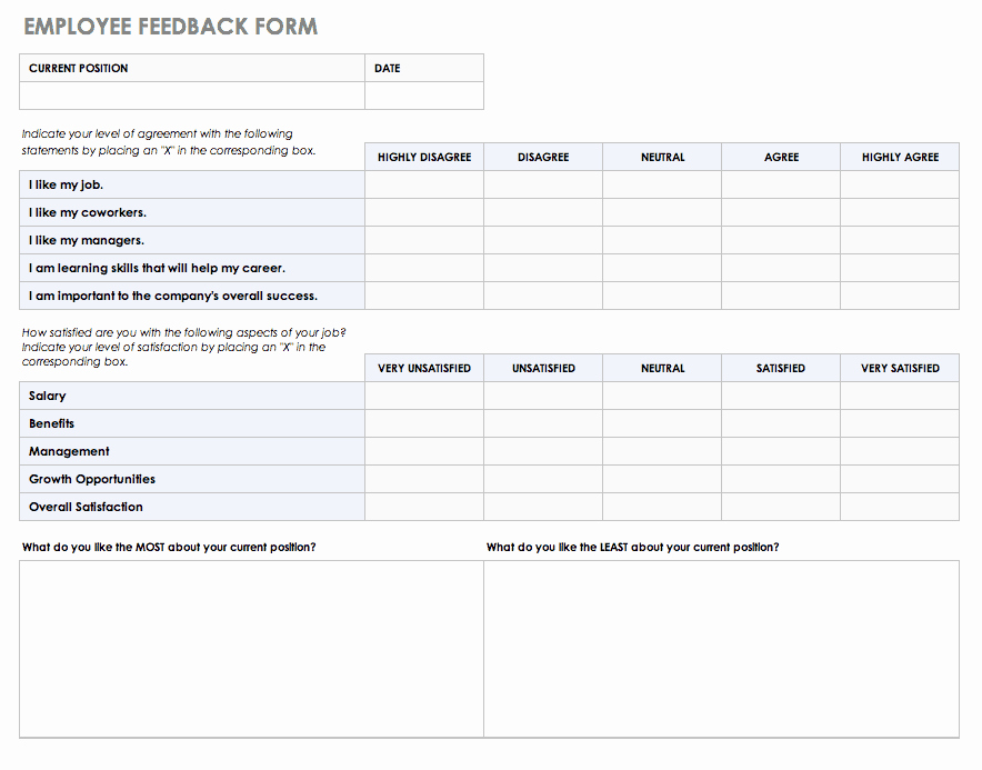 Real Estate Feedback form Template Lovely Free Feedback form Templates
