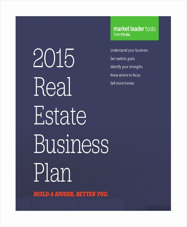 Realtor Business Plan Template Awesome 28 Business Plan Templates Word Pdf Docs