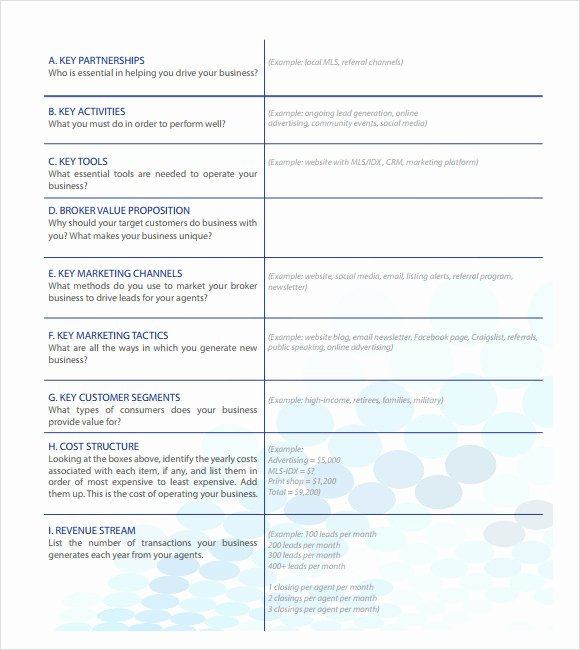 Realtor Business Plan Template Elegant How to Start A Puter Training Center Business Paper
