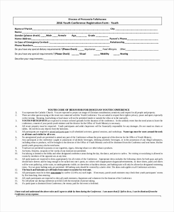 Registration form Template Free Download Best Of Registration form Template 11 Free Pdf Word Documents