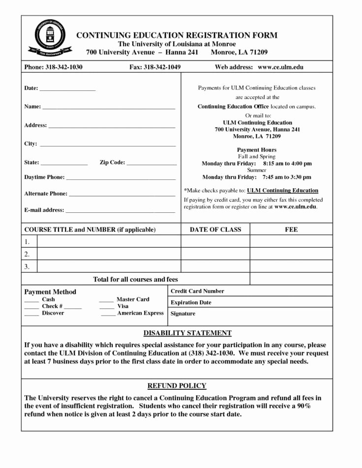 Registration form Template Free Download Fresh Line Registration form Template Free Download