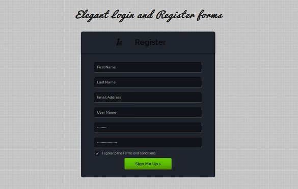 Registration form Template Free Download New 15 Best PHP Registration form Templates Free & Premium