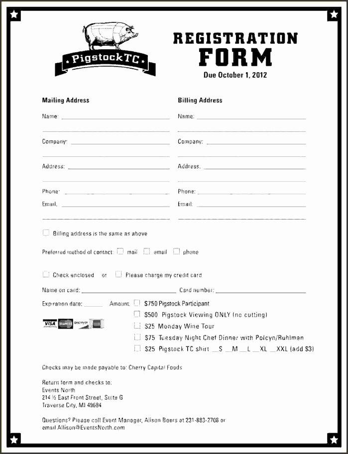Registration form Template Microsoft Word Elegant 10 event Registration form Template Microsoft Word