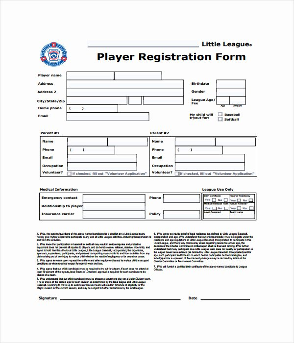 Registration form Template Microsoft Word Elegant 11 Registration form Templates Free Word Pdf Documents