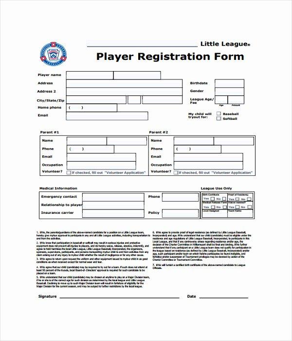 Registration form Template Microsoft Word Elegant 11 Registration form Templates Free Word Pdf Documents
