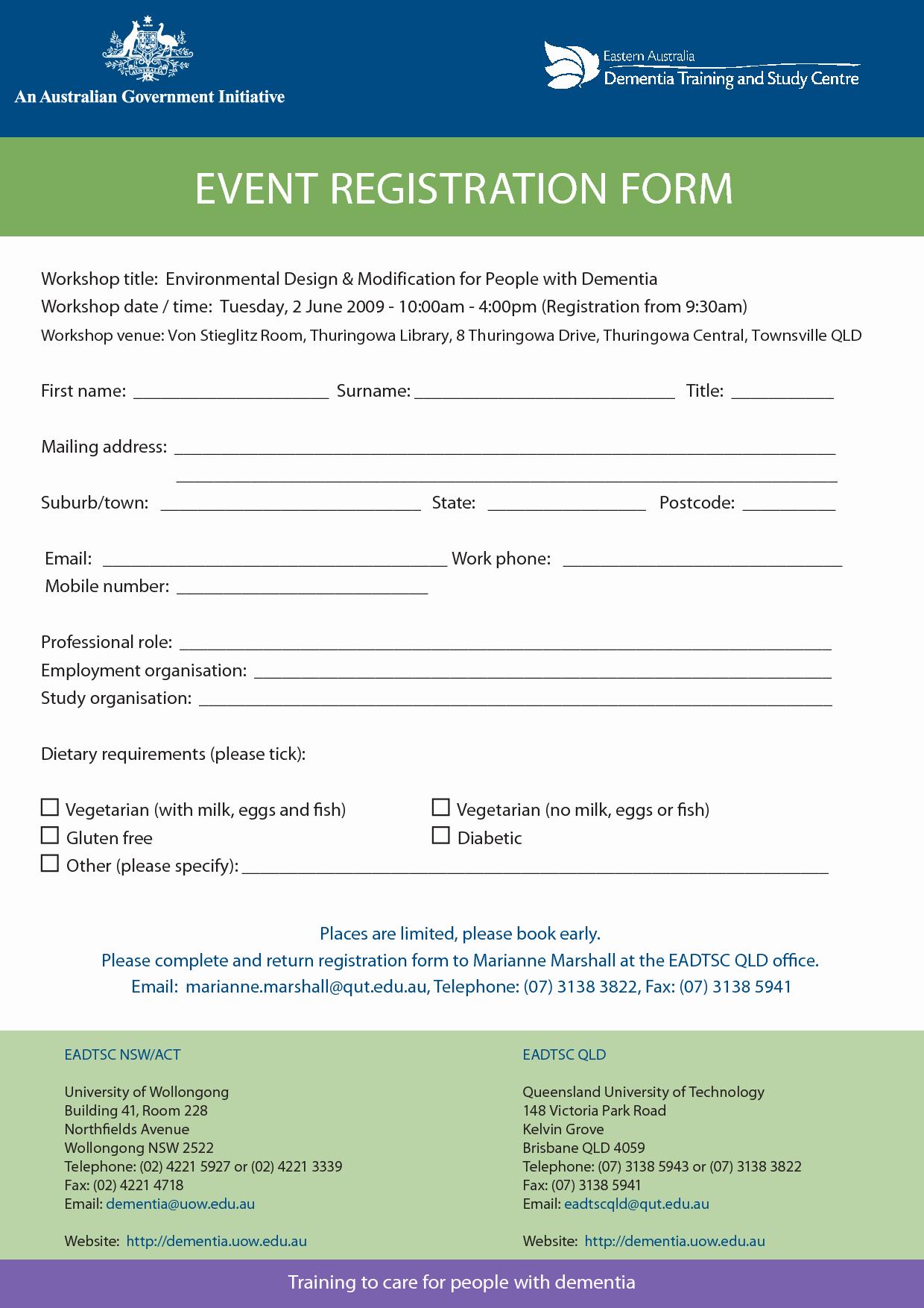 Registration form Template Microsoft Word Inspirational Registration form Template