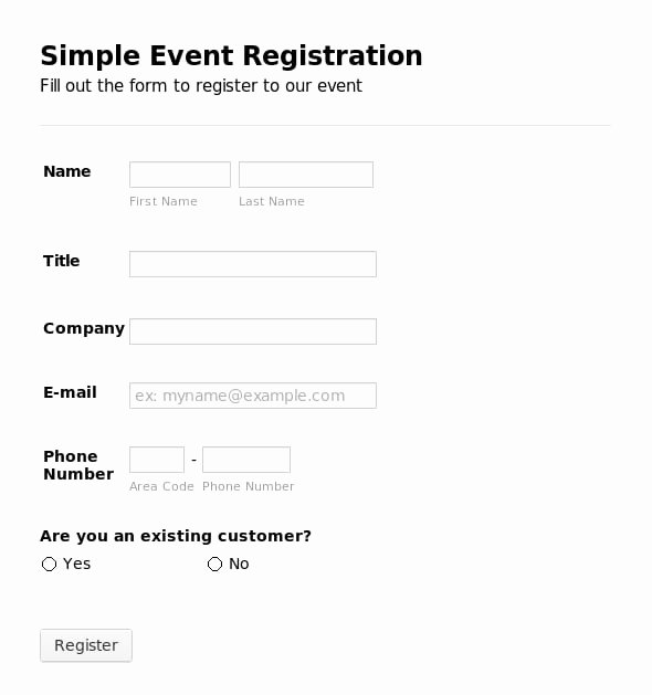 Registration form Template Microsoft Word New 5 Registration form Templates Word – Word Templates