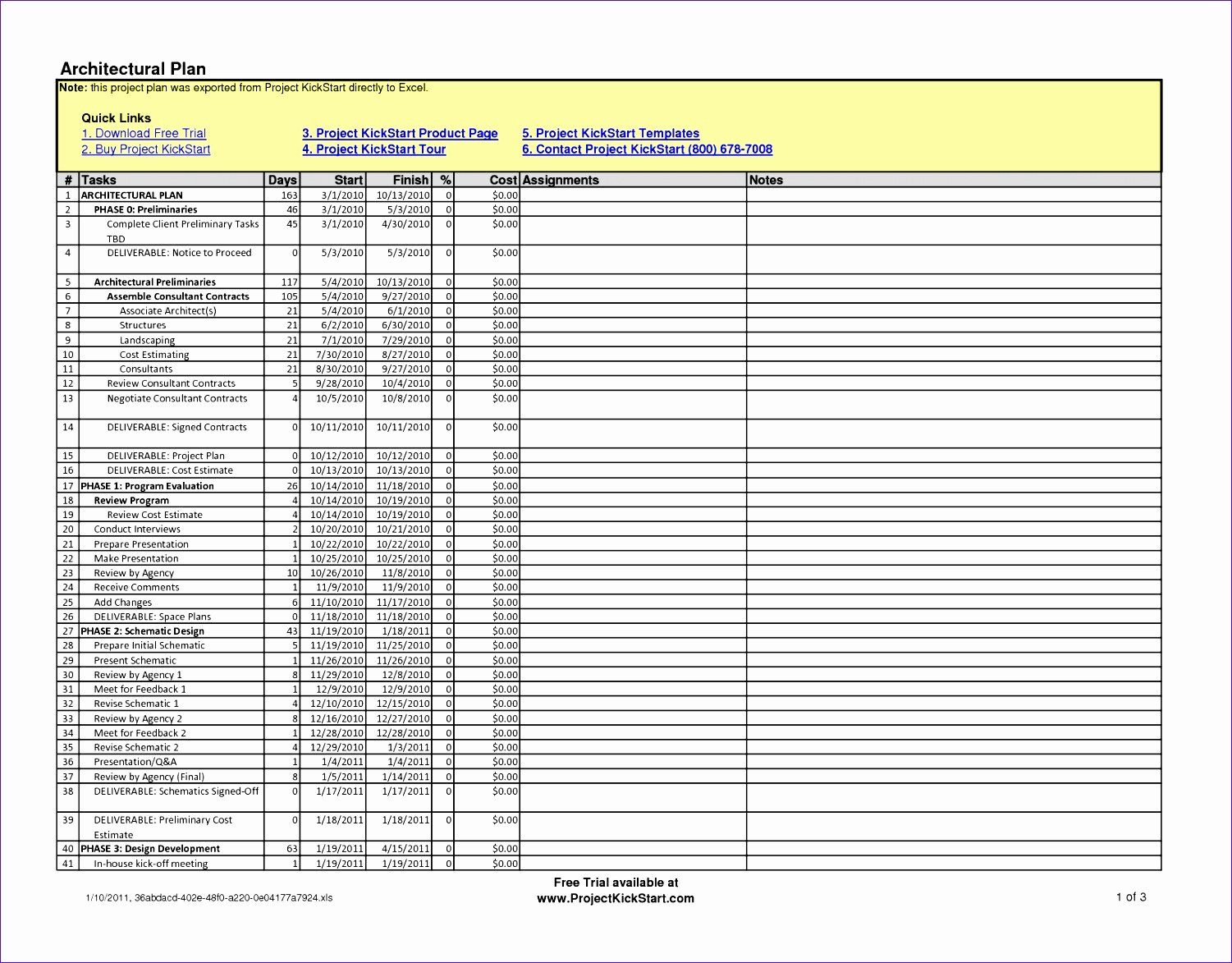 construction schedule template excel free x4562