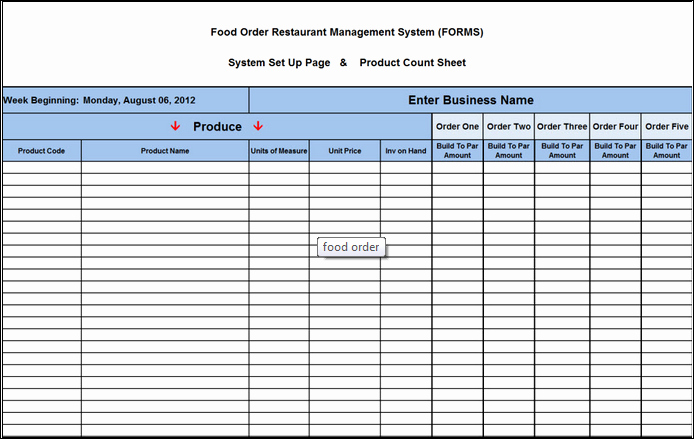 Restaurant Food order form Template Best Of New Cumberland Pennsylvania Restaurant Consultants