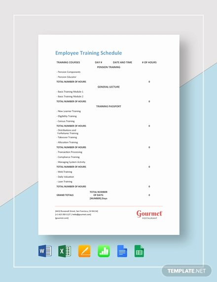 Restaurant Work Schedule Template Inspirational 199 Free Schedule Templates Pdf Word Excel