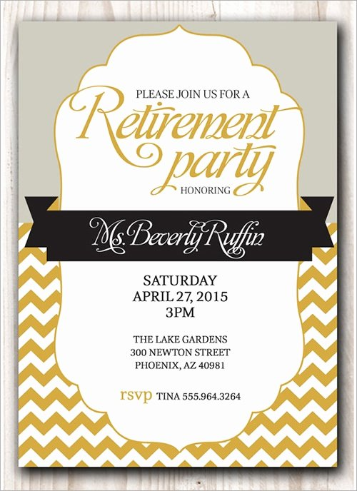 Retirement Dinner Invitation Template Luxury 54 Invitation Templates Word Psd Ai