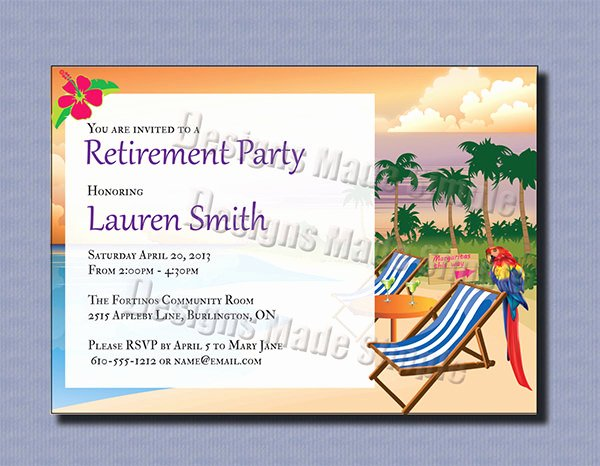 Retirement Dinner Invitation Template New 36 Retirement Party Invitation Templates Psd Ai Word