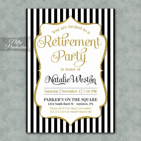 Retirement Luncheon Invitation Template Fresh 13 Retirement Party Invitations Psd Ai