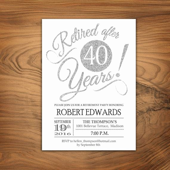Retirement Luncheon Invitation Template Fresh Retirement Party Invitation Retirement Invite Printable