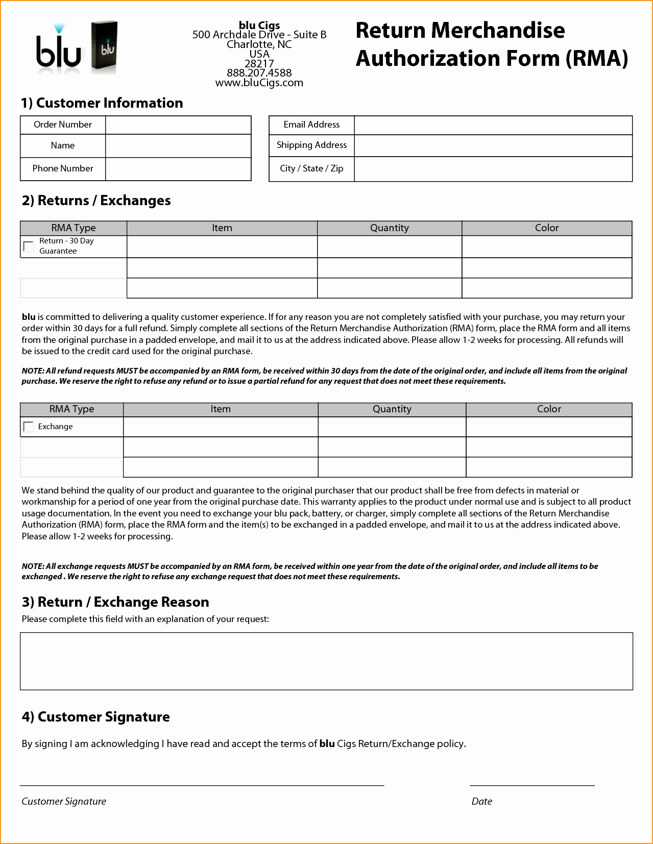 Return Authorization form Template Fresh 24 Of Return Authorization form Template In Word