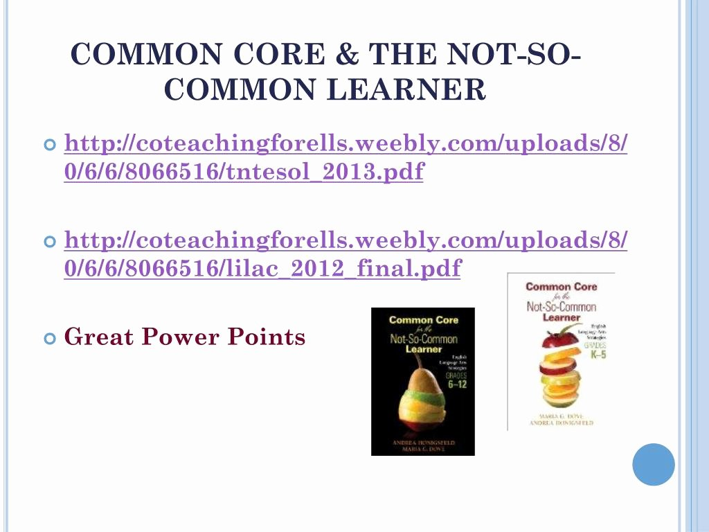 Robert Marzano Lesson Plan Template Best Of Ppt Collaboration & Co Teaching for Ells Powerpoint